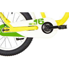 s'cool niXe 16 steel Kinder yellow/green
